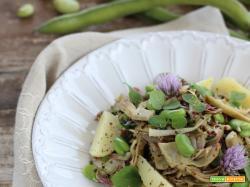 Quinoa alla Vignarola