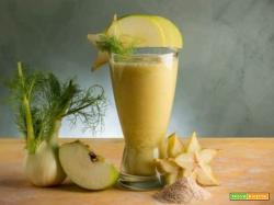 Estratto di finocchio e mela verde : depurativo!