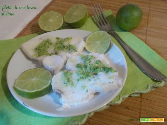 Filetti di verdesca al lime