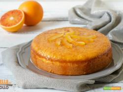 Torta pan d'arancio – ricetta con arancia frullata