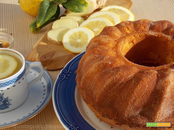 Ciambellone limone e zenzero