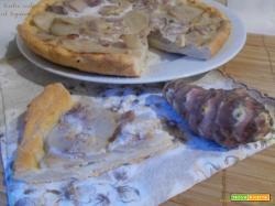 Torta salata al topinambur