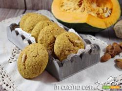 Biscotti integrali alla zucca e mandorle