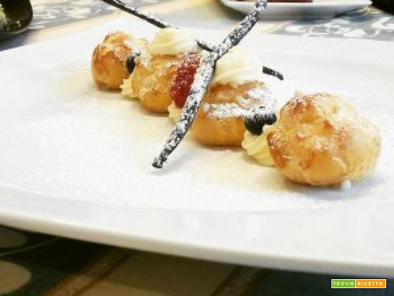 Pasta choux senza burro (Impasto per bignè all'olio)