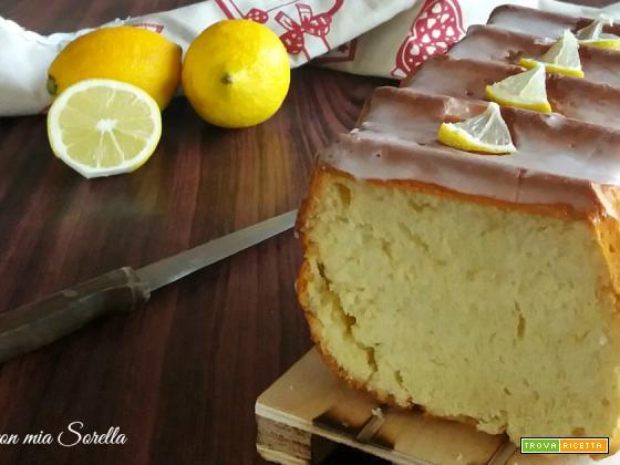 Pan brioche glassato al limone – lievitato dolce
