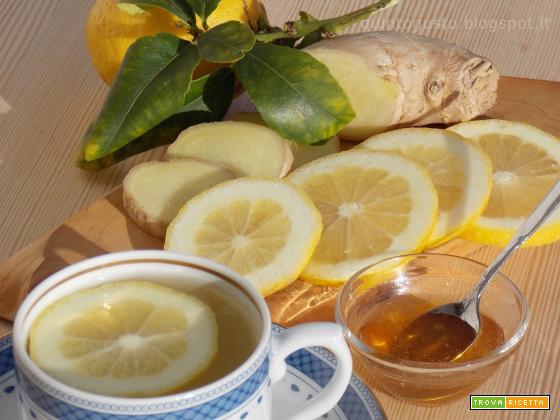 Decotto di zenzero e limone