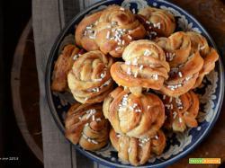 Kanelbullar - Brioches svedesi alla cannella