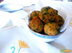 Polpettine di broccoli e prosciutto cotto
