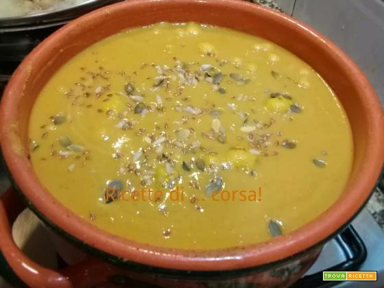 Detox con brio: minestra speziata di lenticchie rosse