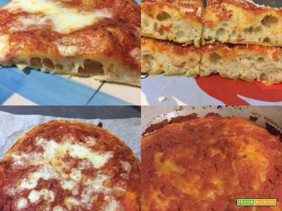 Pizza con lievitazione 24h