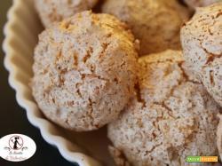 Biscotti veloci al cocco, solo 3 ingredienti e cottura con friggitrice ad aria