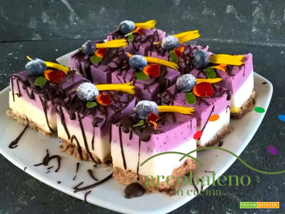 """Vegan dessert Glutenfree """"Arcobaleno""""!"""