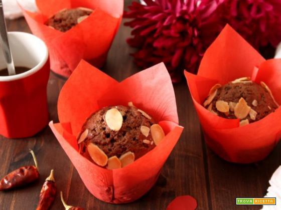 Muffins al cacao e peperoncino: il dessert perfetto per San Valentino