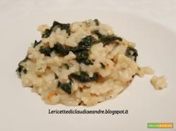 Risotto con cavolo nero e gorgonzola