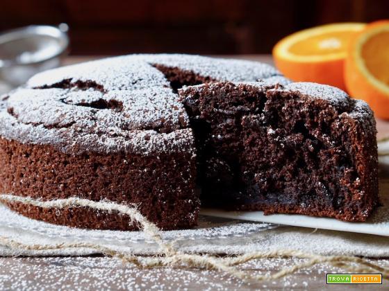 Torta al Cioccolato e Arancia Senza Bilancia