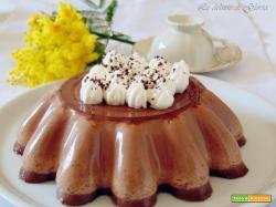 Panna cotta cioccolato e caffè