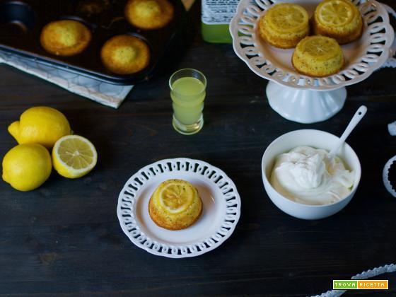 Mini upside down cake al limone