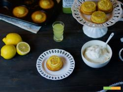 Mini upside down cake al limone