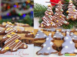 Decorare i biscotti di Natale
