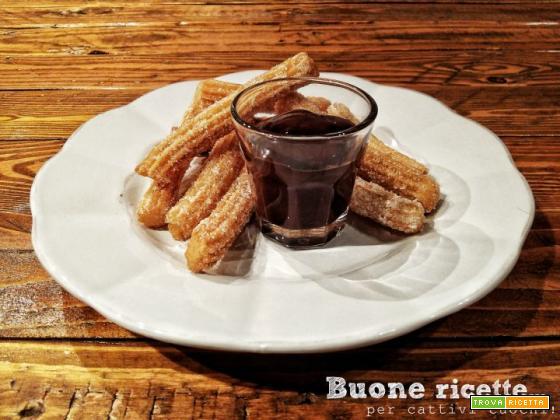 Churros, dolci fritti golosi