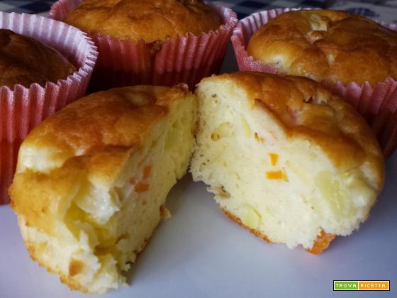 Muffin alle verdure | Ricetta