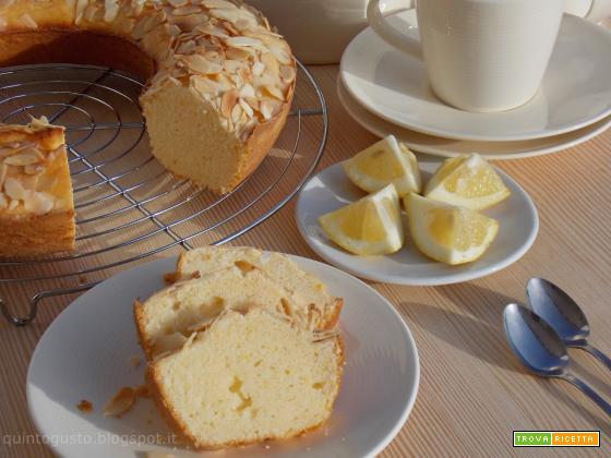Ciambella panna e limone
