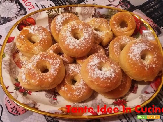 CIAMBELLE AL FORNO (ricetta di Benedetta )