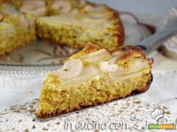 Torta integrale mandorle e pere – senza zucchero