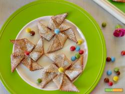 Girandole di carnevale fritte, un dolce per i bambini