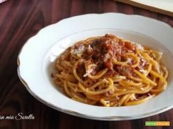 Pasta all'amatriciana – ricetta tradizionale romana