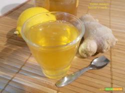 Tisana zenzero, limone e miele