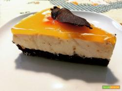 ORANGE&RUM CHEESCAKE