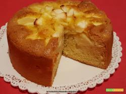Torta di mele leggera, senza grassi e senza latte