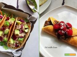 Tortillas o Crepes Dolci o Salate con Soli 2 Ingredienti