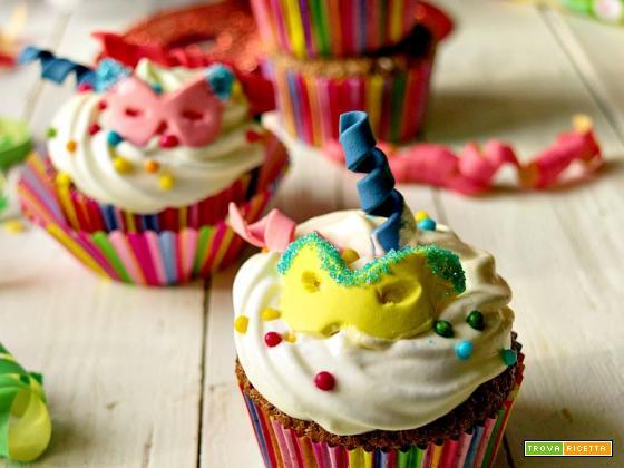 Cupcakes di carnevale, per una merenda in maschera