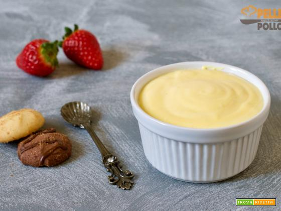 Crema diplomatica o crema chantilly all'italiana