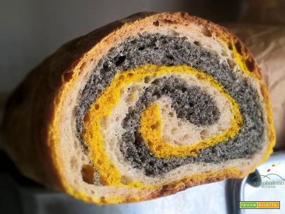 Come fare il pane biologico colorato di Giallo, Nero e Bianco!