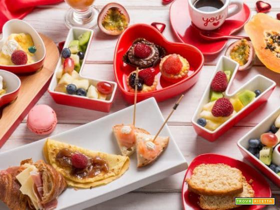 Prepariamo un'afrodisiaca colazione romantica per stupire fin dal mattino