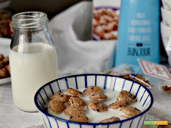 Piccoli cookies da tuffare nel latte! Regalo homemade