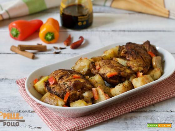 Pollo alla giamaicana (Jerk chicken)