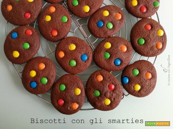 Biscotti con gli smarties