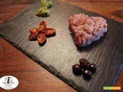 San Valentino: cuori di tartare di tonno