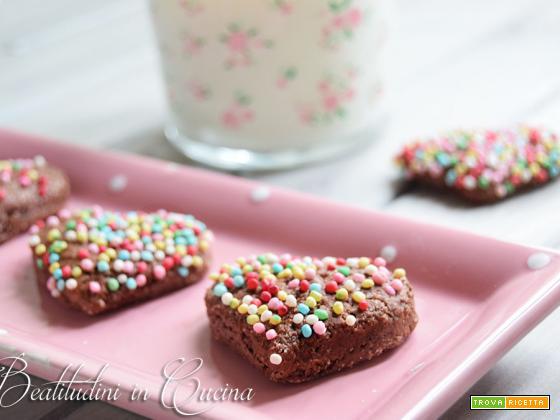 Biscotti al latte di cocco e cacao