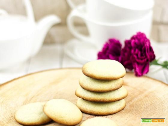Biscotti al vino - senza uova e burro
