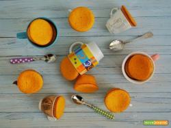 Tortini di carote con cuore di marmellata