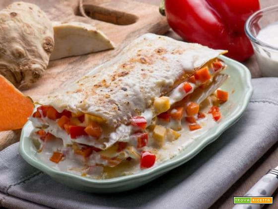 Lasagne di farina di lenticchie con verdure: un primo da leccarsi i baffi!