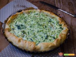 Torta salata con ricotta e broccoli – Ricetta facile e veloce