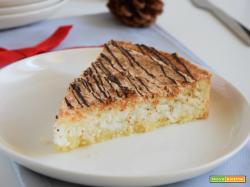 Crostata meringata al cocco