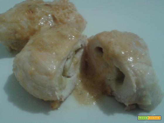 Involtini di pollo al carciofo | Ricetta