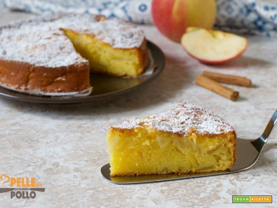 Torta di mele semplicissima e soffice